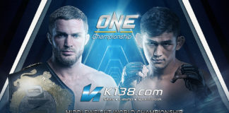 ONE CHAMPIONSHIP, LIGHT OF A NATION